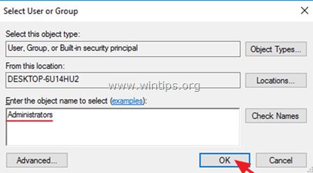 WindowsApps change permissions