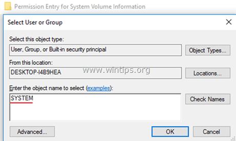 change folder permissions
