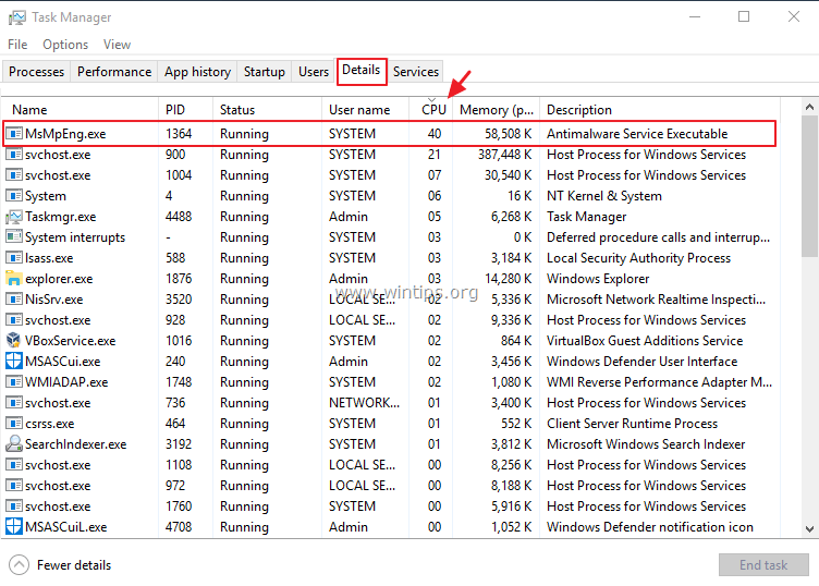 How to find why Windows 10 running slow. - wintips.org - Windows