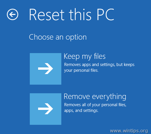how to clear my computer back to factory settings