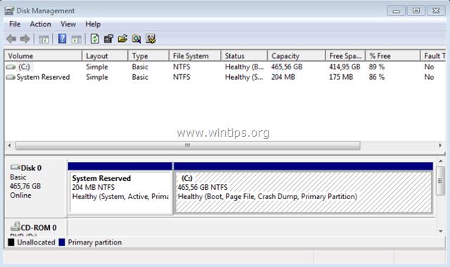Windows Disk Management