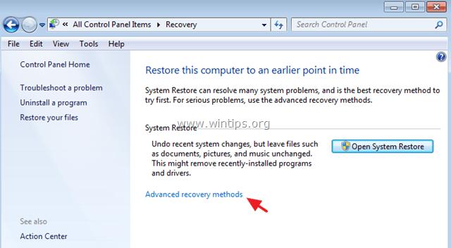 system image restore