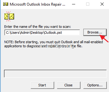 FIX: Outlook File Access Denied Cannot Open PST or Import PST file