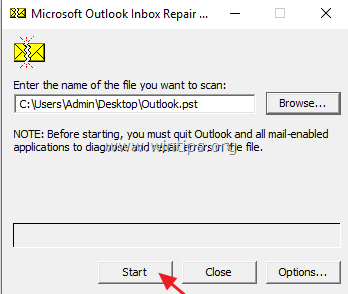 FIX: Outlook File Access Denied Cannot Open PST or Import