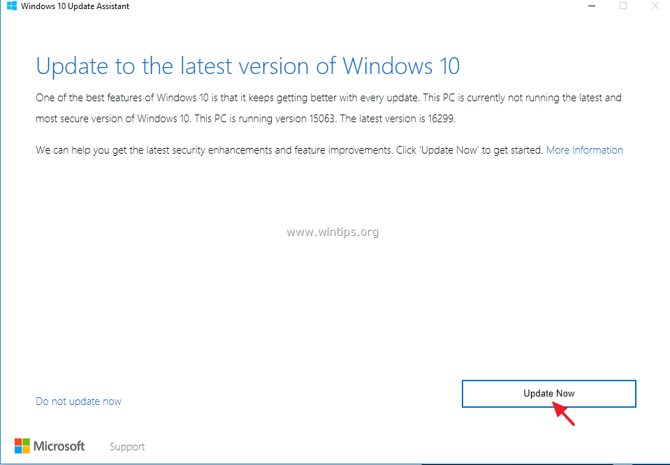 update windows 10 version 1709 problems