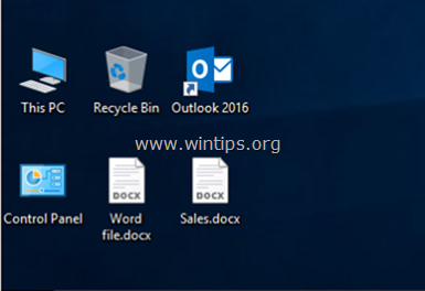 DOCX files not showing Word icon in Explorer