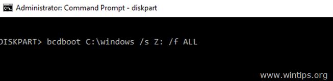 sửa chữa các tập tin khởi động windows 10-8