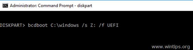sửa chữa các tập tin khởi động uefi windows 10-8