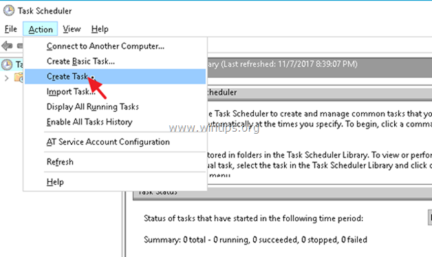 create restore point task scheduler