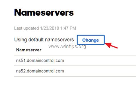 modify dns g suite domain