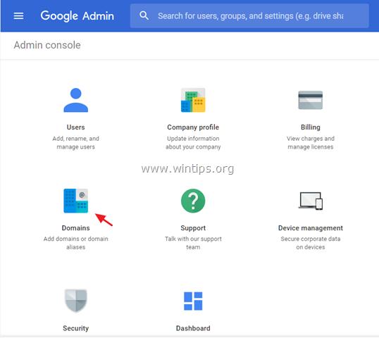 manage google domain