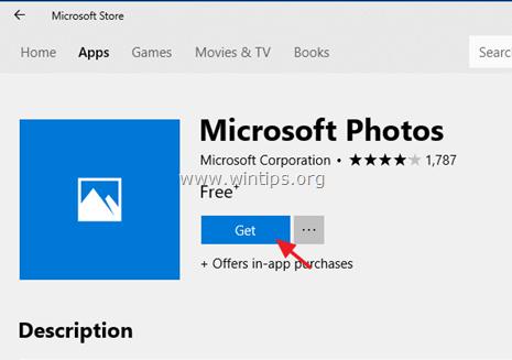 fix photos app cannot open windows 10