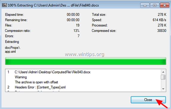 FIX: Word File is Corrupt and Cannot be Opened (Recover