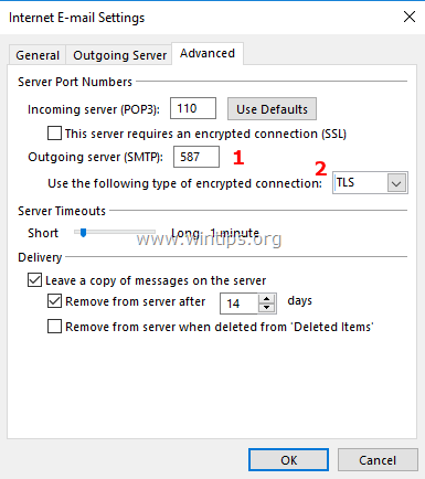 FIX: Relay Access Denied 554 5 7 1 Error in Outlook (Solved