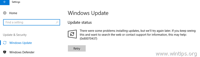 prevent windows 10 update