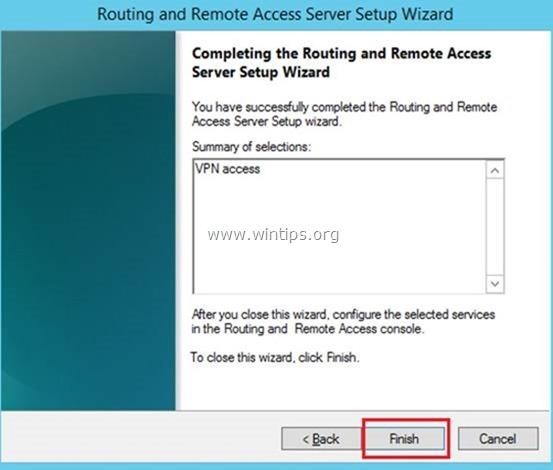 How to Setup VPN Server on Windows Server 2016