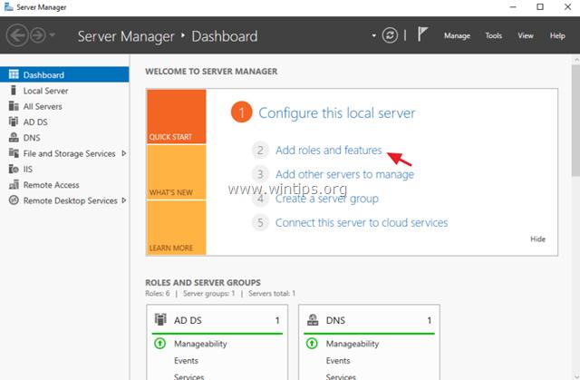 install windows server backup - server 2016