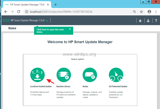HP Smart Update Manager