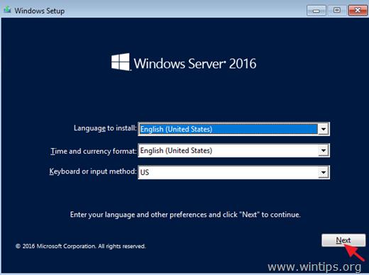 Recover Server 2016