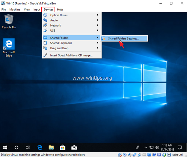 How to Share Files between VirtualBox Guest and Host OS