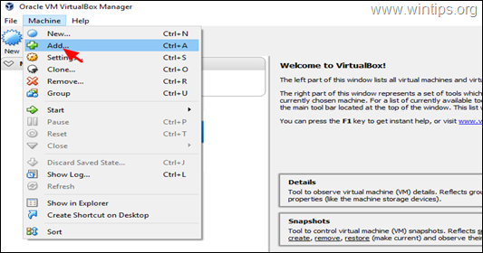 Move VM Machines to Another Computer - VIrtualBox