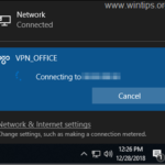 FIX: Windows 10 VPN Doesn