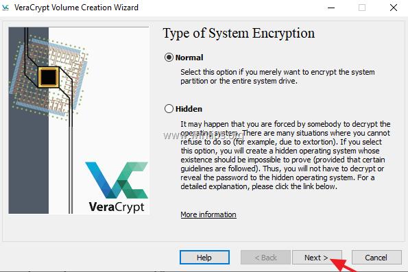 veracrypt use pim