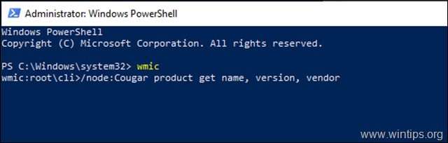 view installed programs powershell