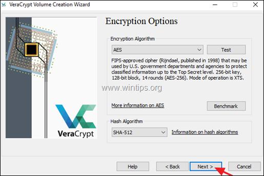 veracrypt encrypt folder