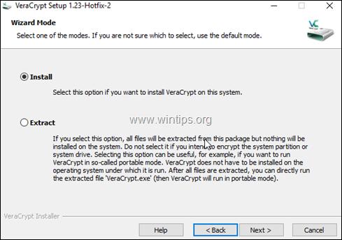 veracrypt install