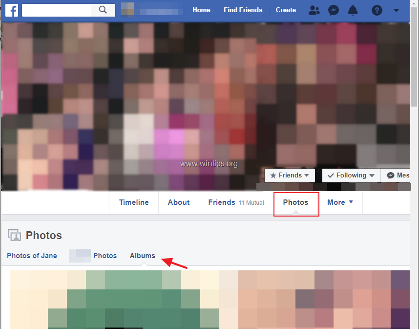 How to Download Facebook Photos, Albums or Videos from