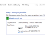 How to Turn Off File History and Reset File History Settings in Windows 10.