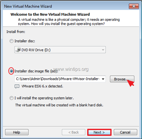 How to Install ESXi on VMware Workstation