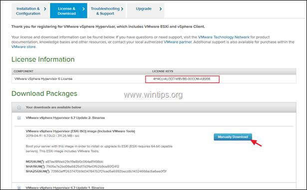 Download VMware Workstation Player for Windows hosts