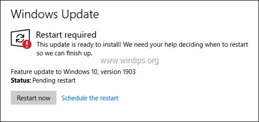 How to Cancel Windows 10 Update in Progress
