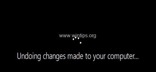 How to Cancel Update in Progress in Windows 10.