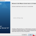 How to Install vCenter Server 6.7 on Windows.