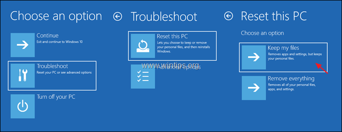 How to Reset Windows 10 from USB
