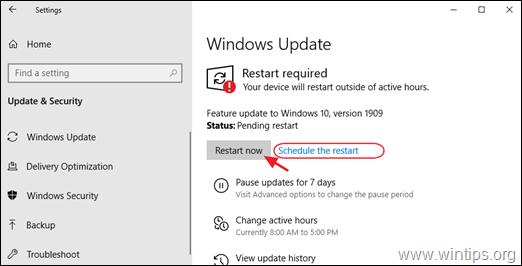 Download Windows 10  version 1909