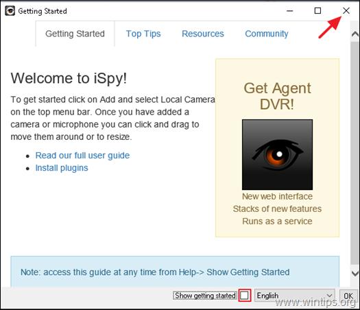 iSpy Video Surveillance Software.