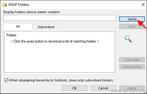 FIX: IMAP folders are Not Visible in Navigation Pane