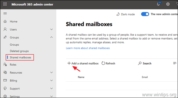 How to Setup a Shared Mailbox in Office 365