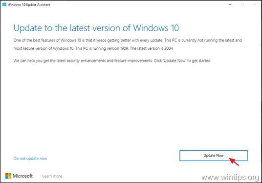FIX: Windows 10 2004 Update failed to install