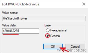 Increase File Size Limit - SharePoint WebDAV