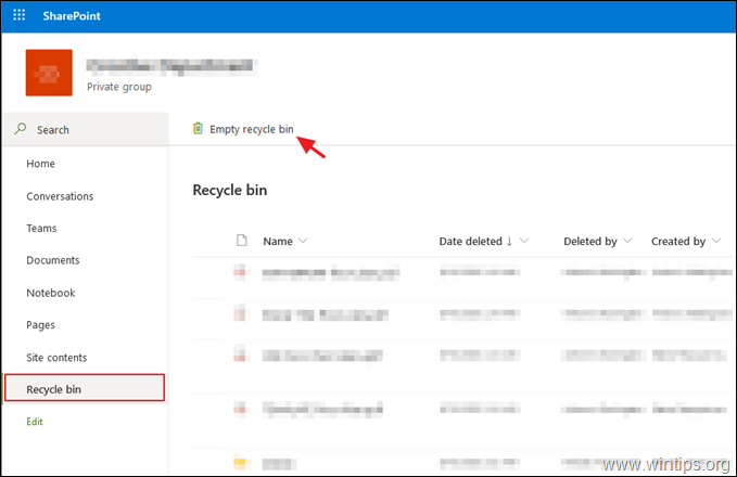 FIX: SharePoint Running out of space. This site is almost out of storage space