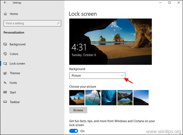 FIX Windows Spotlight stuck on an image