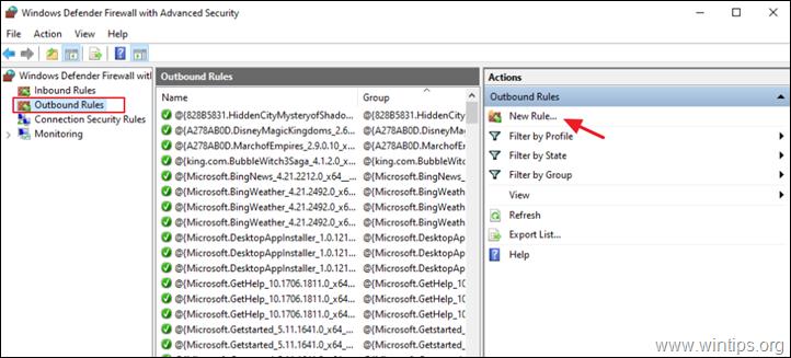 How to Prevent a Program Through Windows Firewall