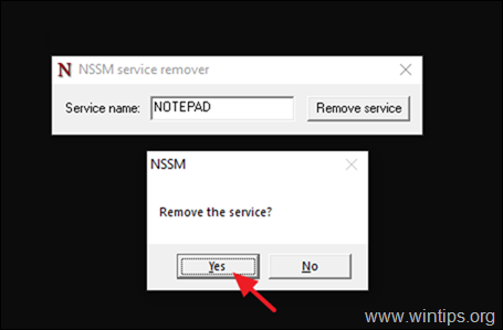 How to Run An Application As Service