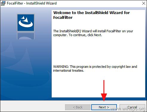 FocalFilter install