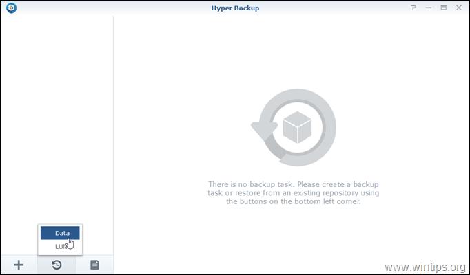 Hyper Backup - Restore